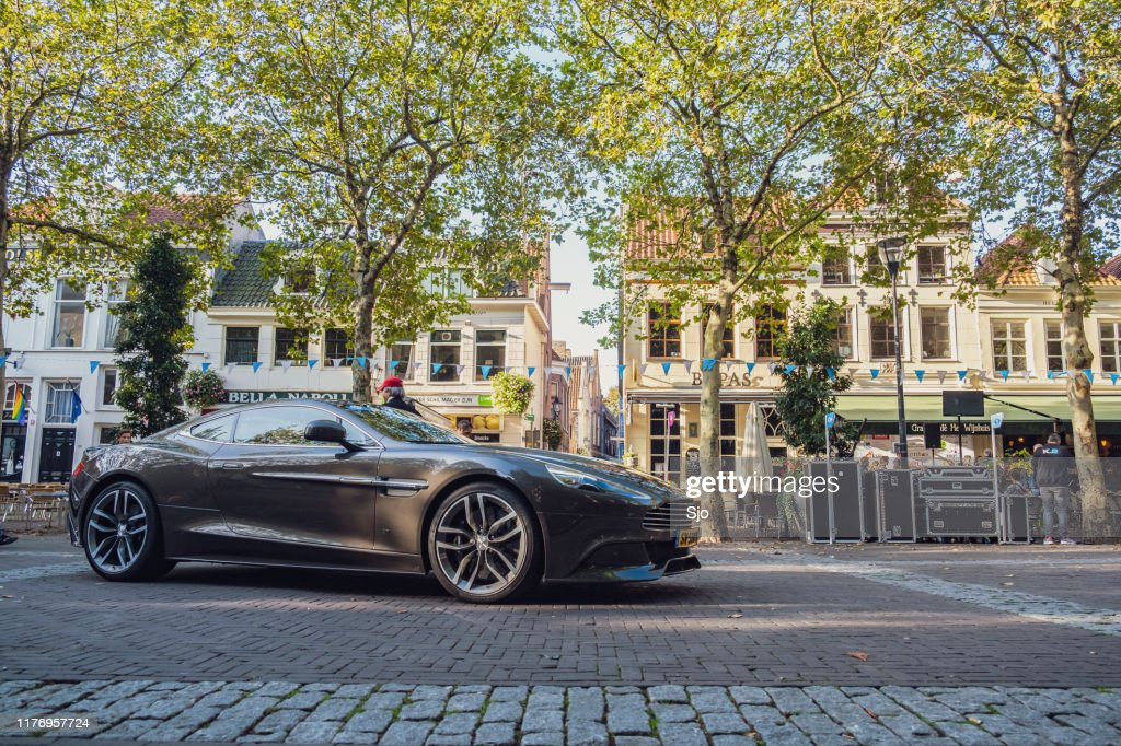 Aston Martin Vanquish sports car : Stock Photo