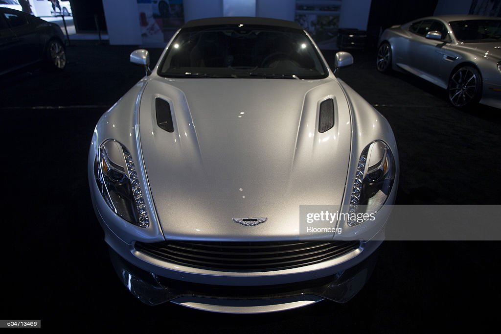 Inside The 2016 North American International Auto Show (NAIAS) : News Photo