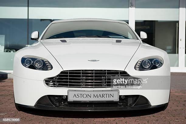 aston martin vantage coupe - aston martin stock pictures, royalty-free photos & images