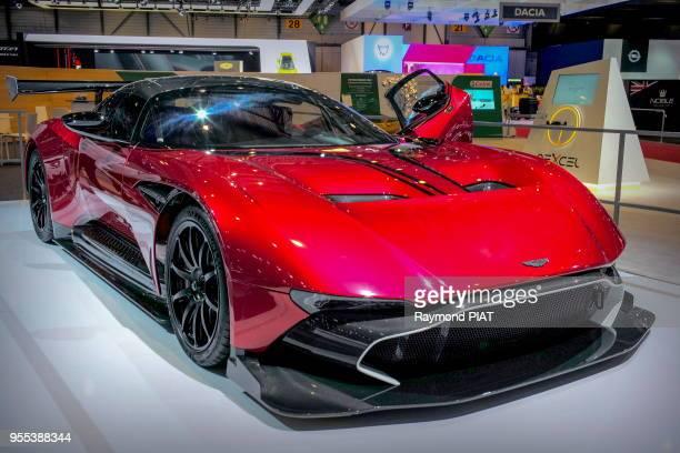 Aston Martin Vulcan V12 87ème Salon International de l'Automobile de Genève 11 mars 2017 Genève Suisse