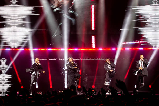 GBR: JLS Perform At Motorpoint Arena, Cardiff