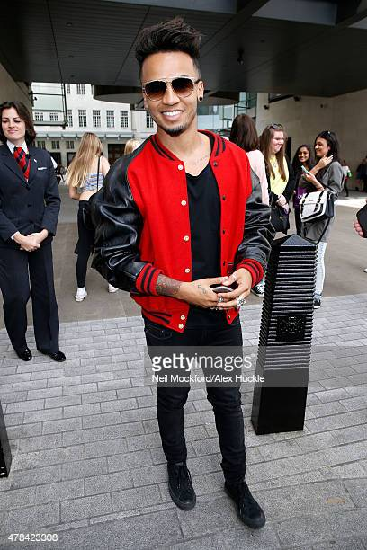 Aston Merrygold seen at the BBC Radio 1 Studios on June 25 2015 in London England Photo by Neil Mockford/Alex Huckle/GC Images