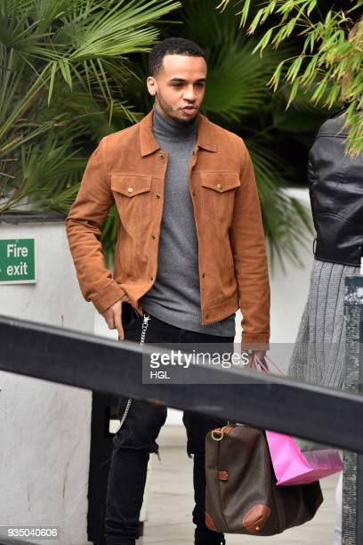 Aston Merrygold seen at the ITV Studios on March 20 2018 in London England