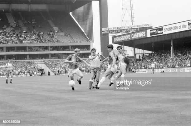 Aston Villa 0-2 Birmingham City, league division 2 match at Villa Park, Saturday 22nd August 1987.