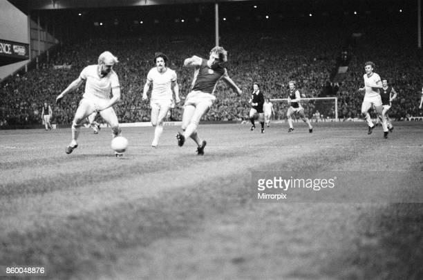 Aston Villa 10 Anderlecht European Cup Semifinal 1st leg match at Villa Park Wednesday 7th April 1982