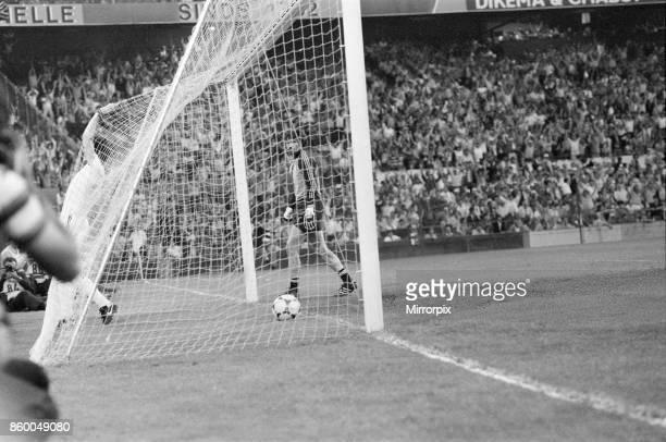 Aston Villa 10 Bayern Munich European Cup Final match at the De Kuip Rotterdam Holland Wednesday 26th May 1982