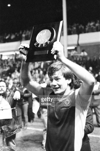 Aston Villa 30 European Super Cup 2nd match at Villa Park Birmingham Wednesday 26th January 1983 Villa win 31 on aggregate