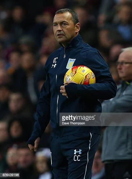 Aston Villa assistant manager Colin Calderwood during the Sky Bet Championship match between Aston Villa and Cardiff City at Villa Park on November...