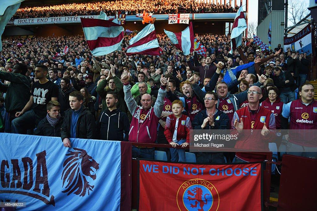 Aston Villa v West Bromwich Albion - FA Cup Quarter Final : News Photo