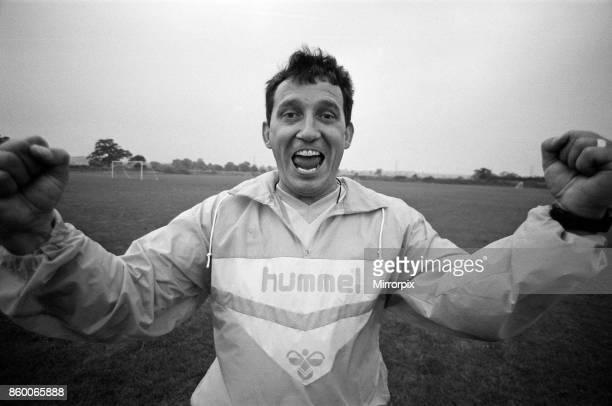 Aston Villa manager Graham Taylor, 20th July 1987.