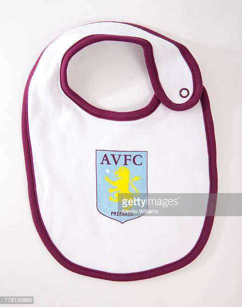 Aston Villa merchandise ahead of the birth of the first child of The Duke and Duchess of Cambridge on July 08 2013 in Birmingham England