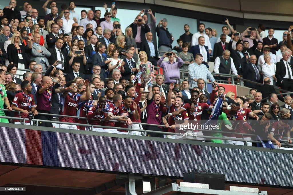 Aston Villa v Derby County - Sky Bet Championship Play-off Final : News Photo