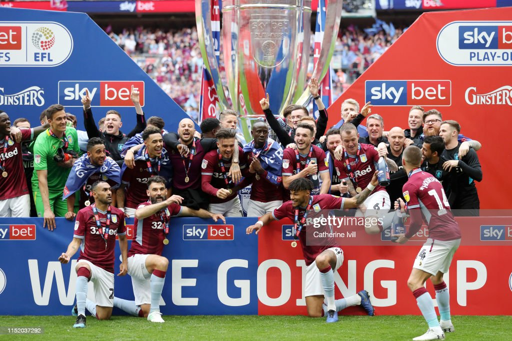 Aston Villa v Derby County - Sky Bet Championship Play-off Final : Foto di attualità