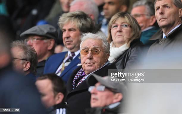 Aston Villa president emeritus Doug Ellis