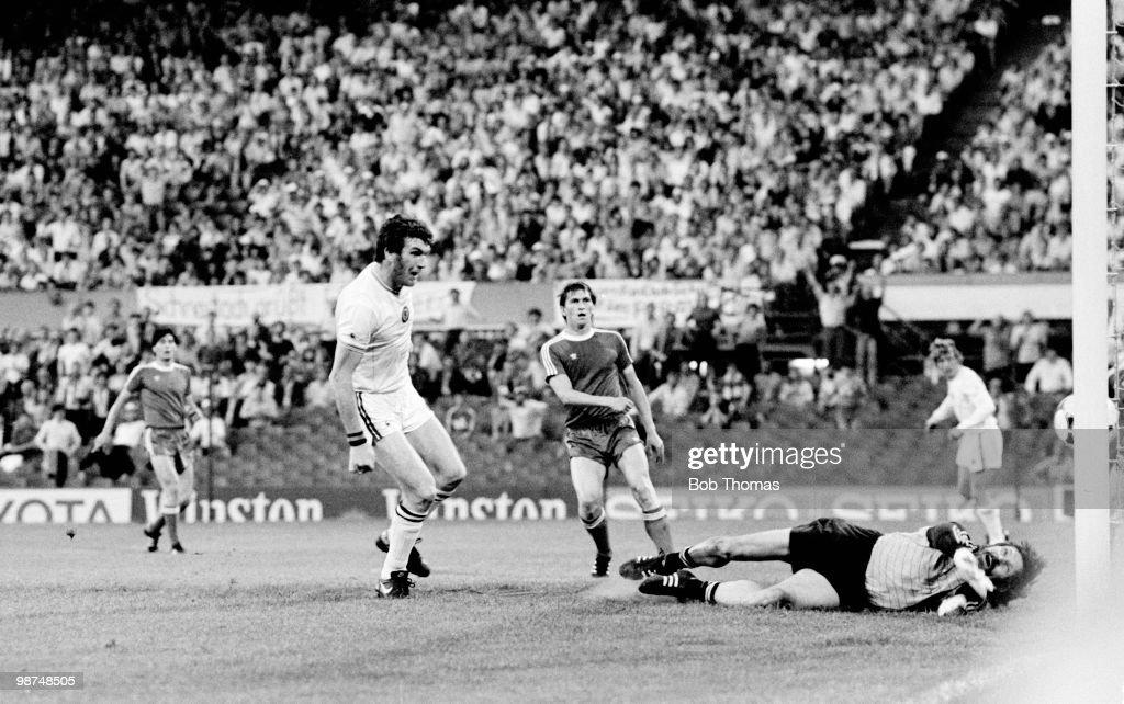 European Final 1982 Print Peter Withe Aston Villa Print Villa v Munich