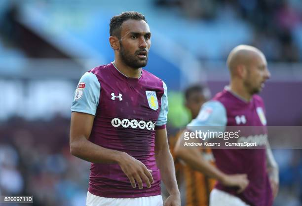 Aston Villa's Ahmed Elmohamady during the Sky Bet Championship match between Aston Villa and Hull City at Villa Park on August 5 2017 in Birmingham...