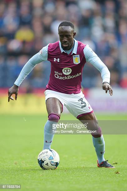 Aston Villa's Albert Adomah during the Sky Bet Championship match between Preston North End and Aston Villa at Deepdale on October 1 2016 in Preston...