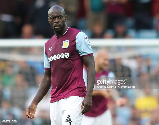 Aston Villa's Christopher Samba during the Sky Bet Championship match between Aston Villa and Hull City at Villa Park on August 5 2017 in Birmingham...