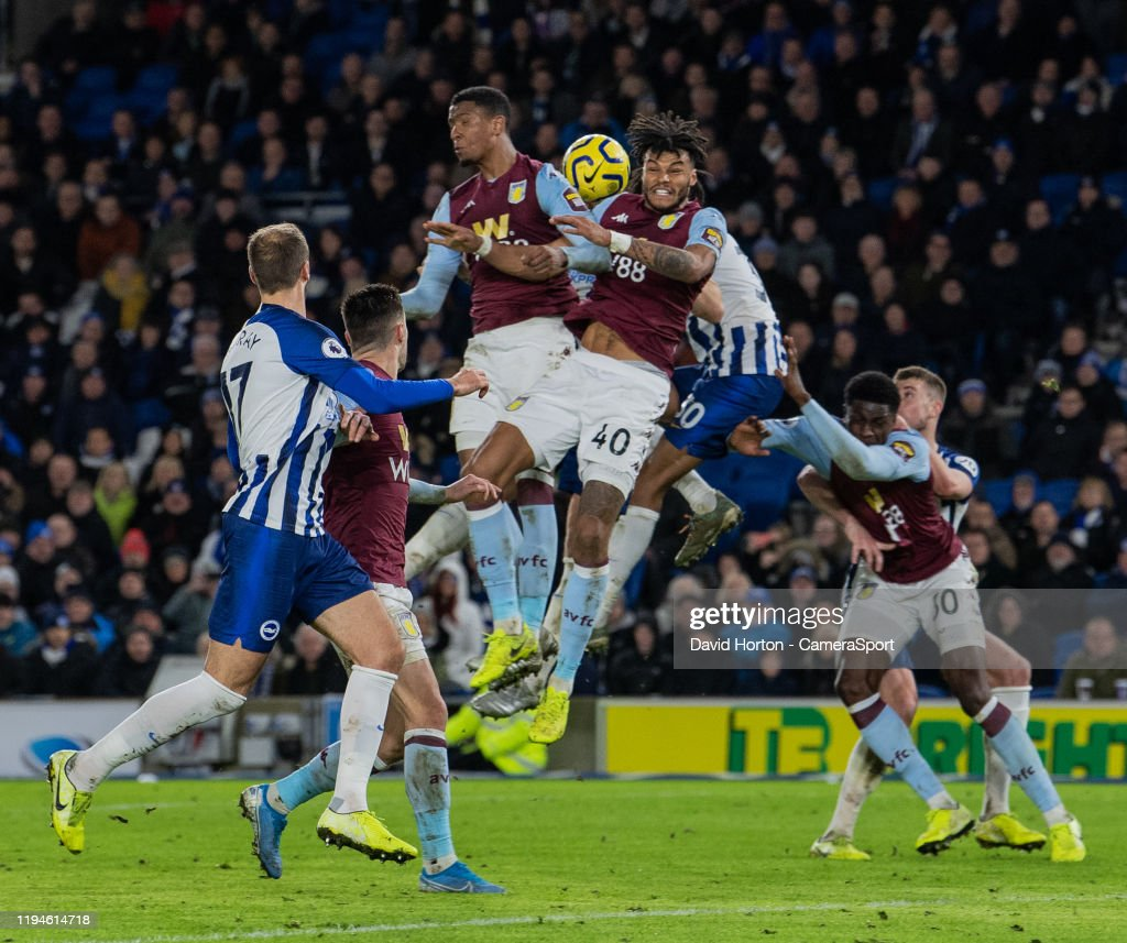 Brighton & Hove Albion v Aston Villa - Premier League : News Photo