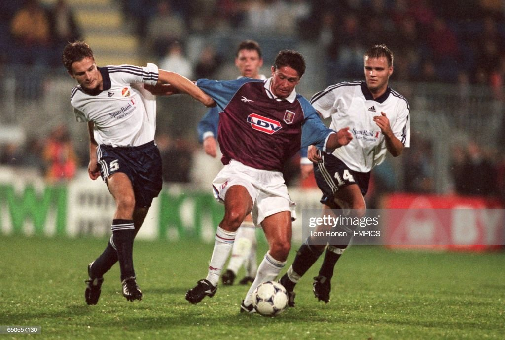 Soccer - UEFA Cup - First Round Second Leg - Stromsgodset v Aston Villa : News Photo