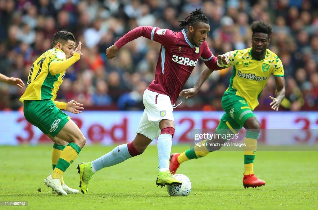 Aston Villa v Norwich City - Sky Bet Championship - Villa Park : News Photo