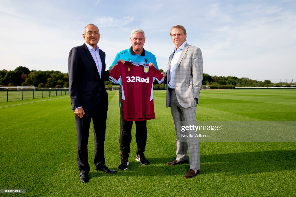 Aston Villa's New Investors Meet Steve Bruce at Bodymoor Heath