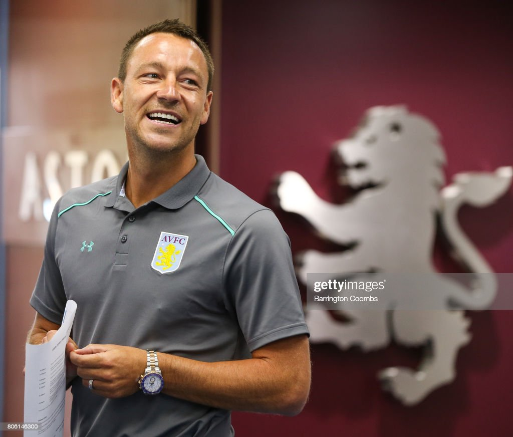 Aston Villa Press Conference : News Photo
