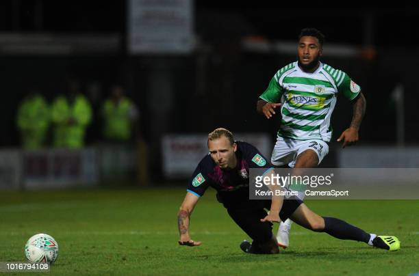 Yeovil Town's Gary Warren during the Sky Bet League Two match between Yevoil Town and Mansfield Town at Huish Park on August 14 2018 in Yeovil United...