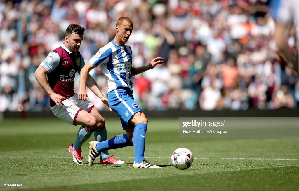 Aston Villa v Brighton and Hove Albion - Sky Bet Championship - Villa Park : News Photo