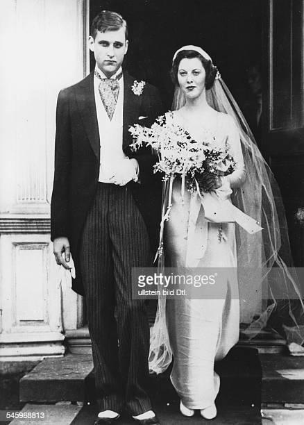 Astor John JacobGrosskaufmann USAHochzeit mit Ellen Tuck French1934
