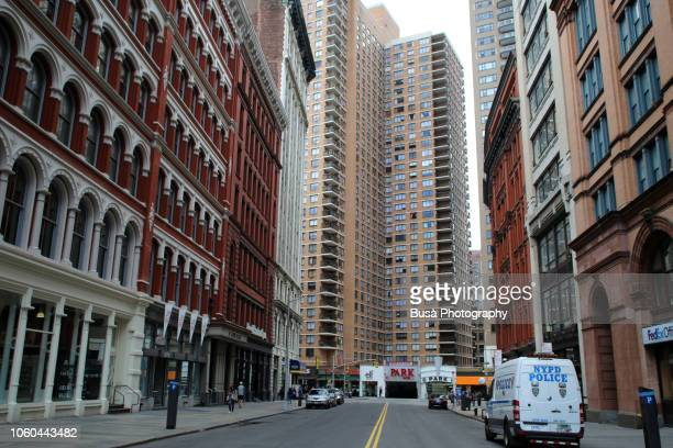 astor place, street in manhattan, new york city - east village stock pictures, royalty-free photos & images