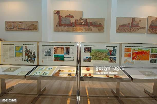 Astorga Asturica Augusta Roman Museum Way of Santiago Silver Route Leon province Castilla y Leon Spain