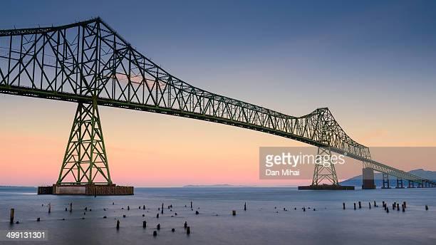 Astoria-Megler Bridge at Dawn