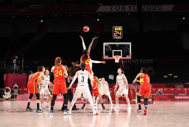 JPN: Basketball - Olympics: Day 3