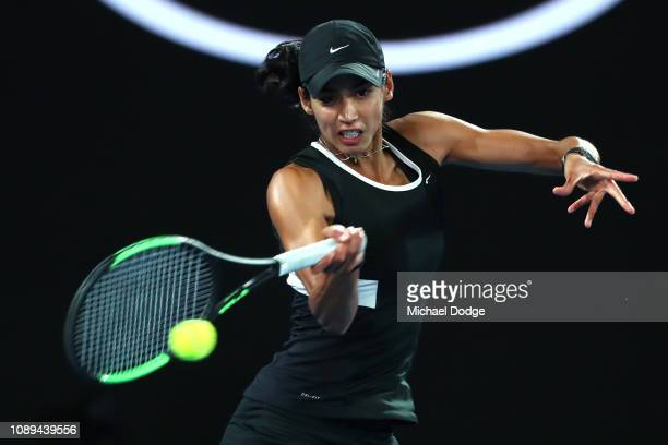 Astra Sharma and Australia in her Mixed Doubles Final match with JohnPatrick Smith of Australia against Rajeev Ram of the United States and Barbora...