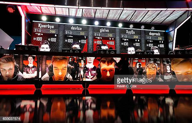 Astralis competes during the ELEAGUE CounterStrike Global Offensive Major Championship finals at Fox Theater on January 29 2017 in Atlanta Georgia