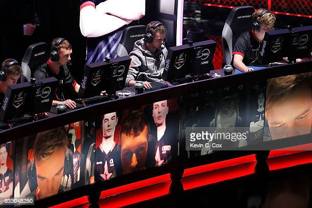 Astralis of competes during the ELEAGUE CounterStrike Global Offensive Major Championship finals at Fox Theater on January 29 2017 in Atlanta Georgia
