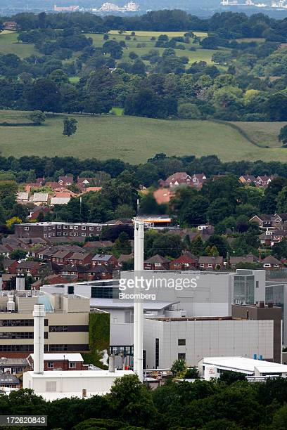 AstraZeneca Plc's factory stands in Macclesfield UK on Thursday July 4 2013 AstraZeneca recently announced it will cut about 1600 jobs as it...