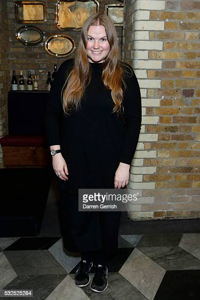 Astrid Andersens attends the GQ Designer Menswear Fund Announcement at Boundary on May 18 2016 in London England