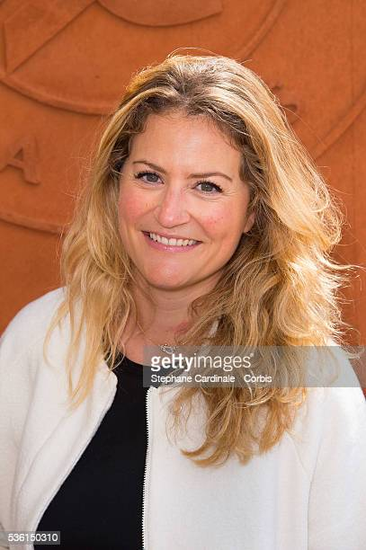 Astrid Bard attends the 2015 Roland Garros French Tennis Open Day Four on May 26 2015 in Paris France