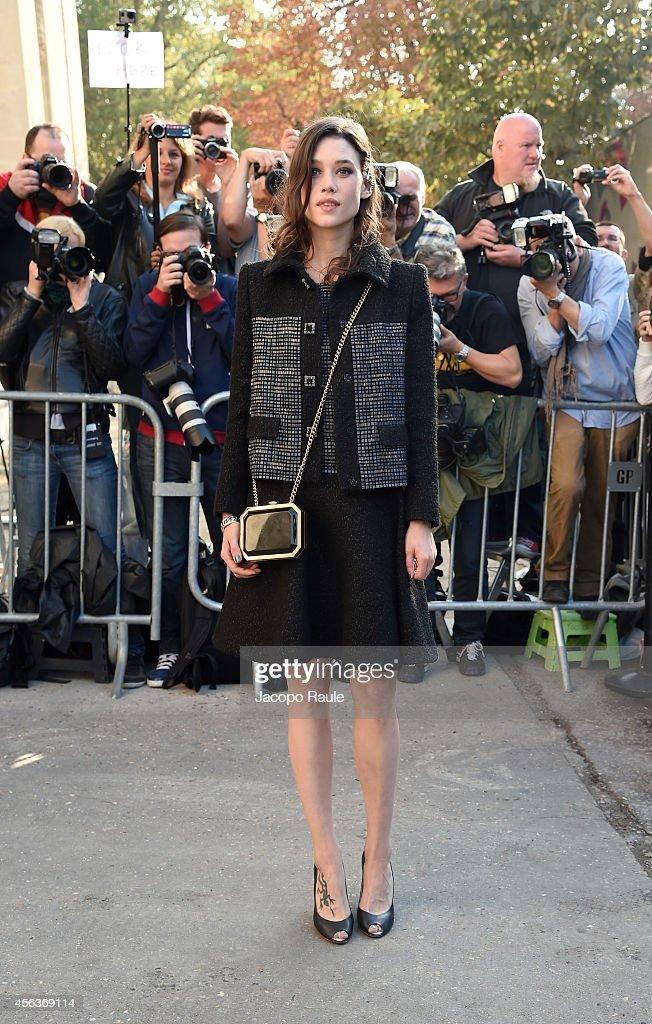 Celebrity Sighting At Paris Fashion Week, Womenswear SS 2015 : September 30th