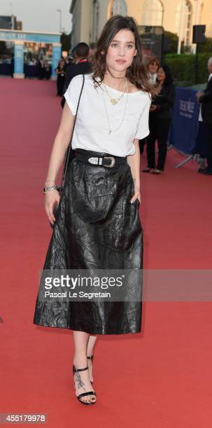 Astrid BergesFrisbey attends Before I Go To Sleep Premiere on September 10 2014 in Deauville France