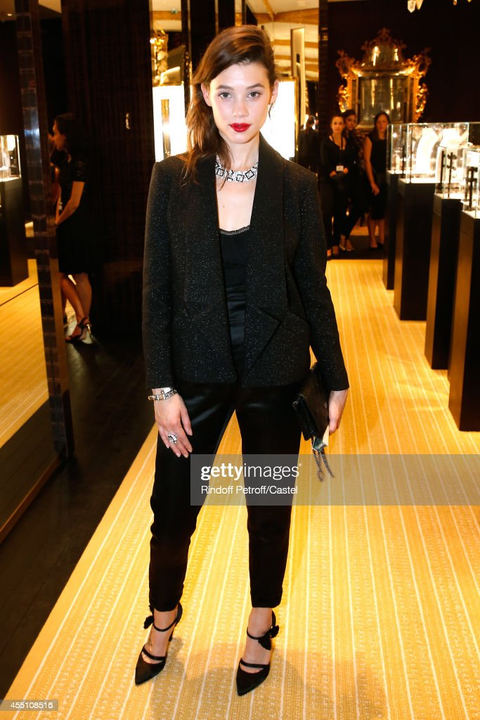 Astrid Berges-Frisbey attends the 27th 'Biennale des Antiquaires' Pre Opening at Le Grand Palais on September 9, 2014 in Paris, France.