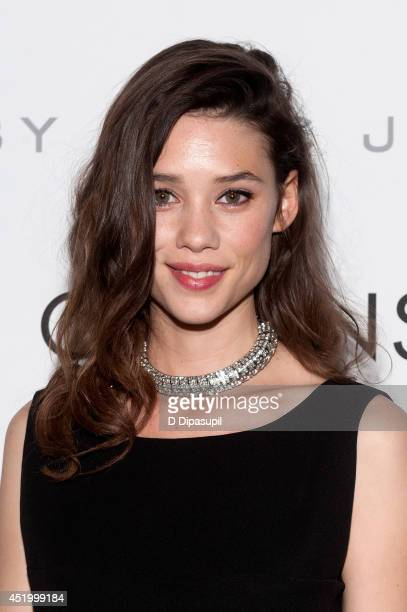 Astrid BergesFrisbey attends the I Origins New York Premiere at Sunshine Landmark on July 10 2014 in New York City