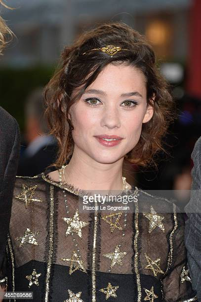 Astrid BergesFrisbey attends 'The November man' premiere on September 11 2014 in Deauville France