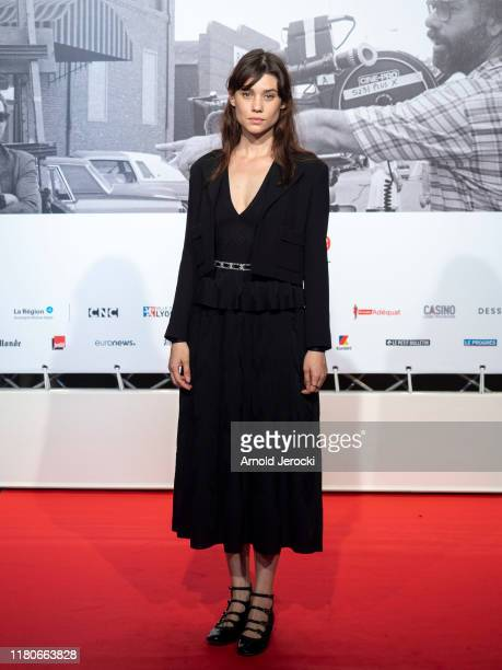 Astrid BergesFrisbey attends the Opening Ceremony of the 11th Film Festival Lumiere on October 12 2019 in Lyon France