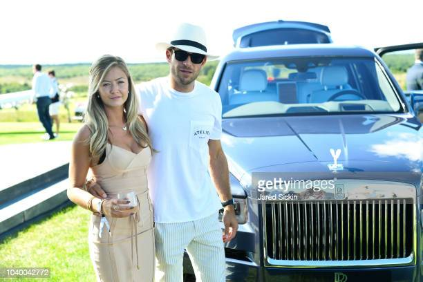 Astrid Gierow and Jay Safier attend The Bridge 2018 at The Bridge on September 15 2018 in Bridgehampton NY