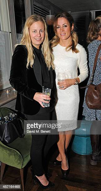 Astrid Harbord and Natalie Pinkham attends a drinks reception hosted by Ben Fogle and Bernie Shrosbree to celebrate Johnnie Walker Blue Label Alfred...