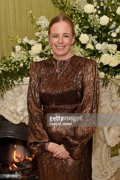 Astrid Harbord attends the British Vogue and Tiffany Co Fashion and Film Party at Annabel's on February 2 2020 in London England