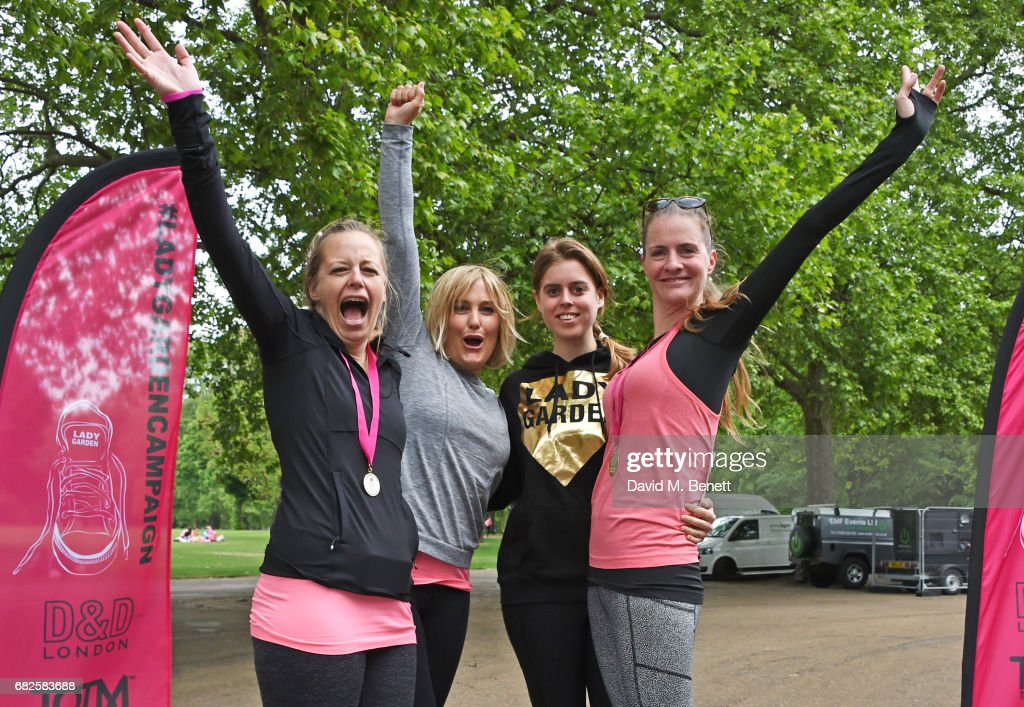 Lady Garden 5K & 10K Run In Aid Of Silent No More Gynaecological Cancer Fund : News Photo